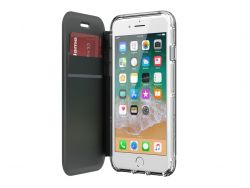 GRIFFIN - Survivor Clear Wallet - iPhone 8 - Clear