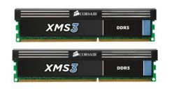 CORSAIR - DDR3 8GB 2x4GB PC 1600 XMS3 with Classic Heat Spreader CMX8GX3M2A1600C9