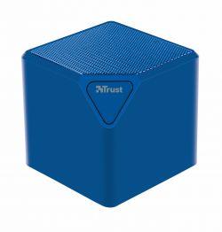 TRUST - URBAN REVOLT Coluna S/ Fios CUBE. Bluetooth. Azul