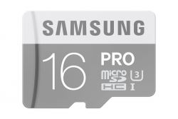 SAMSUNG - Micro SD card 16 GB - Extreme speed UHS-1 - Read 80 MB / s Write 40 MB / s