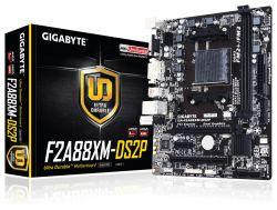GIGABYTE - F2A88XM-DS2P FM2+ A88X GBLAN 4USB3 MATX