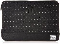 HERSCHEL - Heritage Sleeve Macbook Black Gridlock/Black