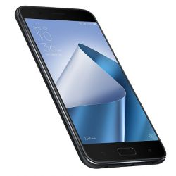ASUS - Zenfone 4 Midnight Black - 5.5P Super IPS Full HD (1920x1080), Qualcomm Snapdragon 630 - até 2,2 GHz Octa-Core - 64-bit, 4GB, 64GB, 8MP+12MP & 8MP, LTE + Dual SIM + 3300mAh + 4K rec, Android 7.0 w/ New ZenUI 3.0