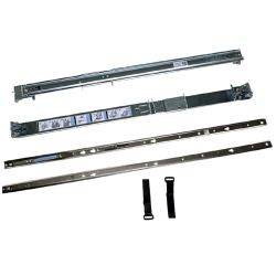 DELL - 2/4-Post Static Rails Kit - Rail kit de prataleira - 1U - para PowerEdge R320, R420, R620, R720, PowerVault DL4000, NX3300