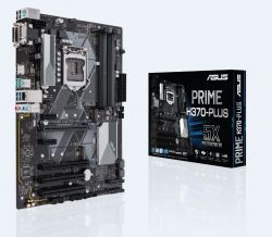 ASUS - PLACA PRIME H370-PLUS, INTEL, 1151 (K), H370