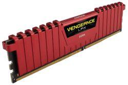 CORSAIR - DDR4 3000MHZ 32GB 4 X 288 UNBUFFERED 15-17-17-35 VENGEANCE LPX RED HEAT SPREADER 1.35V XMP 2.0