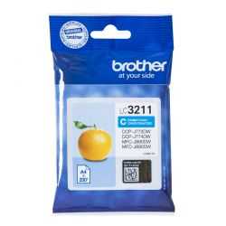 BROTHER - CYAN INK CARTRIDGE WITH SUPL CAPACITY OF 200 PAGES