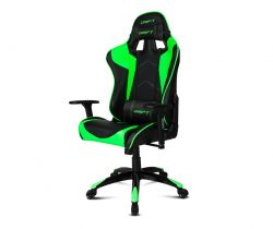DRIFT - DR300 Black / Green Gaming Chair