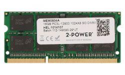 2-POWER - 16GB DDR3L 1600MHZ SODIMM