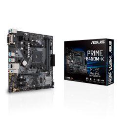 ASUS - MB AMD B450 SKT AM4 2XDDR4 VGA/DVI-D MATX -PRIME B450M-K