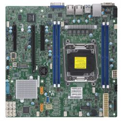 SUPERMICRO - X11SRM-F - Placa-mãe - micro ATX - LGA2066 Socket - C422 - USB 3.0 - 2 x Gigabit LAN - gráfico integrado