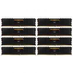 CORSAIR - DDR4 3333MHZ 64GB 8 X 288 UNBUFFERED 16-18-18-36 VENGEANCE LPX BLACK HEAT SPREADER 1.35 XMP 2.0 2 X CORSAIR VENGEANCE AIRFLOW INCLUDED