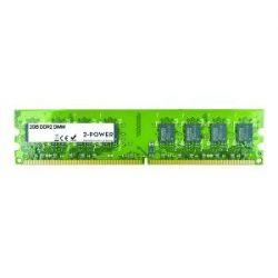 2-POWER - 2GB PC2-6400U 800MHz DDR2 CL6 Dimm 2Rx8