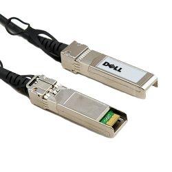 DELL - Cabo de ligação directa - SFP+ (M) para SFP+ (M) - 3 m - axial duplo - para PowerEdge FC630, R220, R230, R330, R420, R430, R530, R630, R730, R920, R930, T130, T630