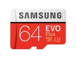 SAMSUNG - EVO PLUS MB-MC64G 64GB MICROSDXC UHS-I CLASE 10 MEMORIA FLASH