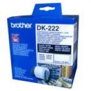 BROTHER - Rolo de papel: contínuo autocolante (branco) 38mmx30:48mts