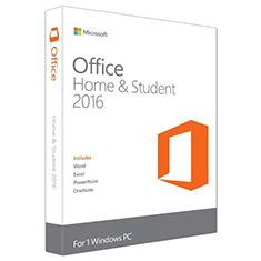 MICROSOFT - Office Home and Student 2016 Win Inglês EuroZone Medialess P2