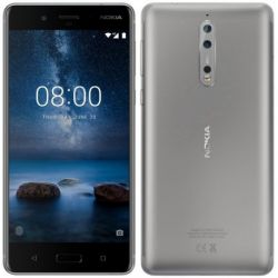 NOKIA - SMARTPHONE 8 DS 5.3PIPS HD QUALCOMM SNAPDRAGON 4GB/64GB ANDROID 7.1.STEEL - 11NB1S01A04