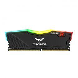 TEAM GROUP - DIMM T-FORCE 8GB DDR4 2400MHZ CL15 DOTA RGB - BLACK