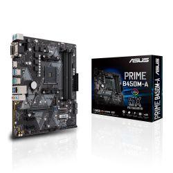 ASUS - MB AMD B450 SKT AM4 4XDDR4 VGA/DVI-D/HDMI MATX -PRIME B450M-A