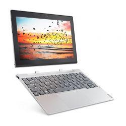 LENOVO - MIIX 320-10ICR-324 - Intel Atom x5-Z8350, 4GB, 64GB eMMC, Integrated, 10.1P IPS HD, 2MP + 5MP, WiFi 1 x 1 802.11 a/c, Bluetooth 4.1, Windows 10 Home (64-bit) - Platinum Silver