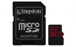 KINGSTON - 32GB microSDHC U3 UHS-I Adapter