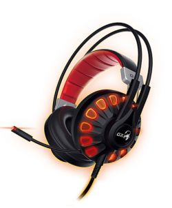 GENIUS - HS-G680 BINAURALE HEADSET PRETO AURICULAR COM Microfone