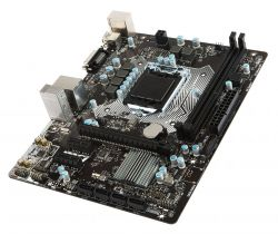 MSI - H110M PRO-D INTEL 1151 H110 2DDR4 32GB DVI GBLAN 4SATA3 2USB3.1 MATX