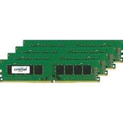 CRUCIAL - 64GB KIT 16GBX4 DDR4 2400 CL17 DIMM