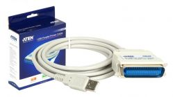 HITEC - Cabo adaptador Aten USB a paralelo CN36 branco