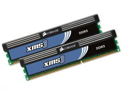 CORSAIR - DDR3 1333MHZ 8GB 2X240 UNBUFFERED 9-9-9-24 1.5 XMS3 WITH CLASSIC HEAT SPREADER - CORE I7 CORE I5AND CORE 2 / AMD PHENOM II - DUAL CHANNEL