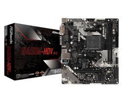 ASROCK - MB AMD AM4 B450M-HDV R4.0