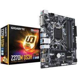 GIGABYTE - PLACA Z370M DS3H, INTEL, 1151 (C), Z370, 4DDR4, 64GB, DVI+HDMI, GBLAN, 6SATA3, 1XM.2, 6USB3.1, MATX