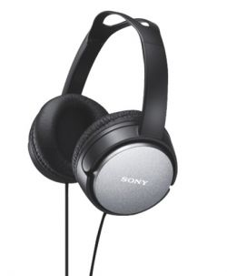 SONY - MDR-XD150B - Auscultadores Hi-Fi + diafragma de 40 mm + banda ajustável Preto
