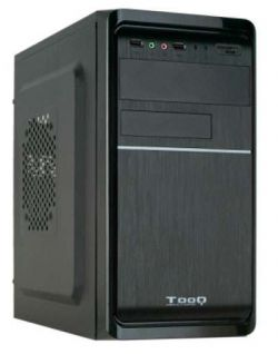 TOOQ - Caixa MINI TOWER TQC-4735U3C-B MATX 500W USB3.0 LEITOR T. PRETO