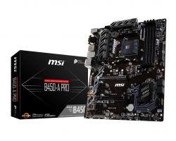 MSI - B450-A PRO AMD B450 SOCKET AM4 ATX
