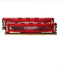 CRUCIAL - Ballistix SportsLT DDR4 16GB Kit (2x8GB) 2666M RED