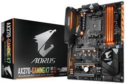GIGABYTE - AX370-GAMING K7 AMD AM4 X370 4DDR4 64GB HDMI 2GBLAN 8SATA3 4USB3.1