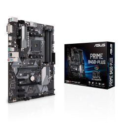 ASUS - MB AMD B450 SKT AM4 4XDDR4 DVI-D/HDMI ATX -PRIME B450-PLUS