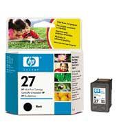 HP - Tinteiro 27 DJ 3325/3420/3550/3650/3745/5850/PSC1315 PRETO C8727AE [I306A]