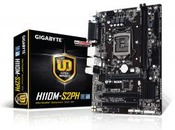GIGABYTE - GA-H110M-S2PH INTEL H110 LGA 1151 (SOCKET H4) MICRO ATX BASE