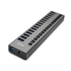 i-tec - USB 3.0 Charging HUB 16port + Power Adapter 90 W: USB-Hub