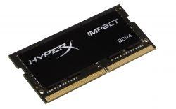HYPERX - IMPACT BLACK SO DDR4 16GB 2666MHZ CL15 HX426S15IB2/16