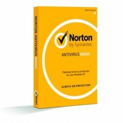 SYMANTEC - SOFTWARE ANTIVIRUS NORTON ANTIVIRUS BASIC 1.0 1 LICENÇA