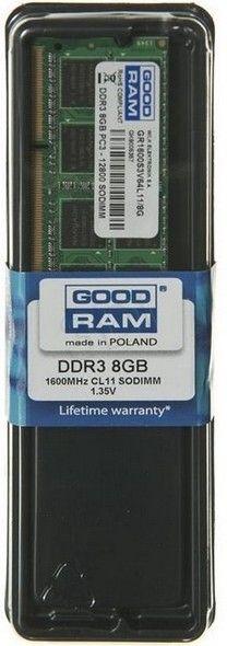 GOODRAM - MODULO MEMORIA SODIMM RAM DDR3 8GB PC1600