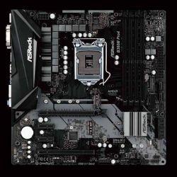 ASROCK - PLACA B360M PRO4, INTEL, 1151, B360, 4DDR4, 64GB, VGA+DVI+HDMI, GBLAN, 6SATA3, 2USB3.1, MATX