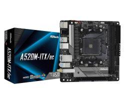 ASROCK - Motherboard AMD AM4 A520M-ITX/AC