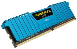 CORSAIR - DDR4 32GB 4X8GB PC 2666 VENGEANCE LPX BLUE CMK32GX4M4A2400C16B