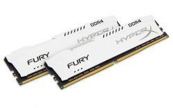 HYPERX - FURY White DRR4 16GB (KIT 2) 2133MHZ CL14 1.2V HX421C14FW2K2/16