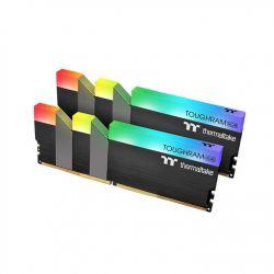 Thermaltake - 16GB 2X8GB DDR4 PC3600 TOUGHRAM PRETO RGB CL18 1.35V R009D408GX2-3600C18B